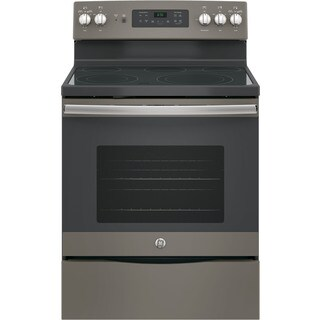 GE 30-inch Free-Standing Electric Convection Range