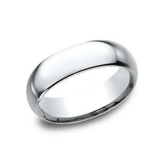 Link to Platinum Men's 7 mm Mid-weight Comfort-fit Wedding Band Similar Items in Wedding Rings