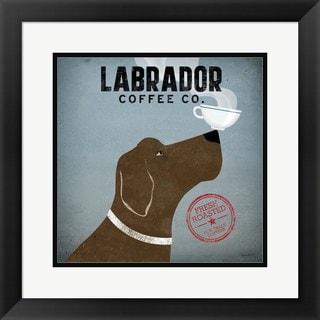 Ryan Fowler 'Labrador Coffee Co.' Framed Art