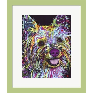 Dean Russo 'Yorkie' Framed Art - Multi