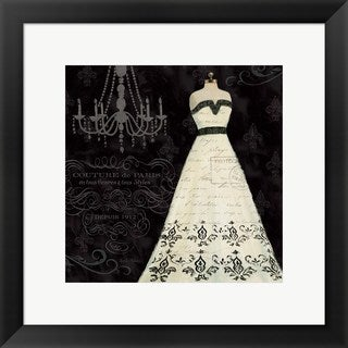 Emily Adams 'French Couture II' Framed Art