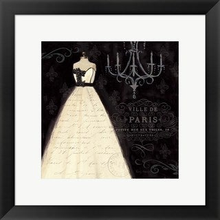 Emily Adams 'French Couture I' Framed Art