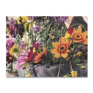 Spring Fever 33x24 Indoor/Outdoor Full Color Cedar Wall Art