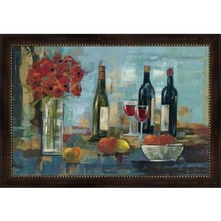 Silvia Vassileva 'Fruit and Wine' Framed Art