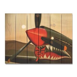 Bird of Prey 33x24 Indoor/Outdoor Full Color Cedar Wall Art