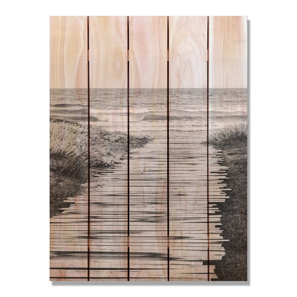 Short Boards 28x36 Indoor/Outdoor Full Color Cedar Wall Art