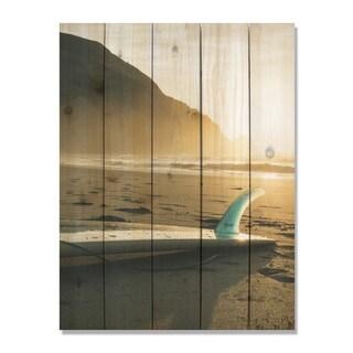 Morning Skies 28x36 Indoor/Outdoor Full Color Cedar Wall Art