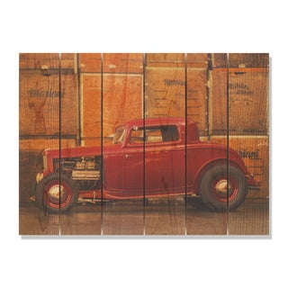 Deuce Coupe 33x24 Indoor/Outdoor Full Color Cedar Wall Art