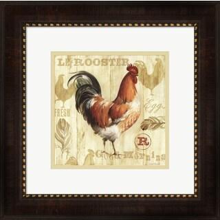 Lisa Audit 'Joli Rooster I' Framed Art