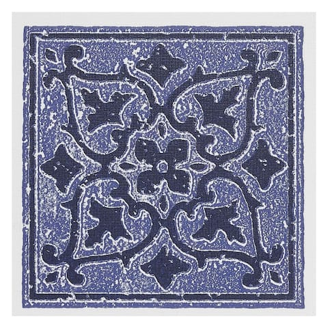 Nexus Accent Blue 4x4 Self Adhesive Wall Tile - 27 Tiles/3 sq. Ft.