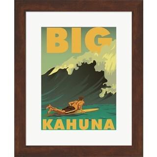 American Flat 'Big Kahuna' Framed Art