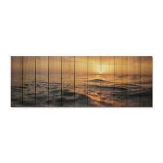 Days End 60x20 Indoor/Outdoor Full Color Cedar Wall Art