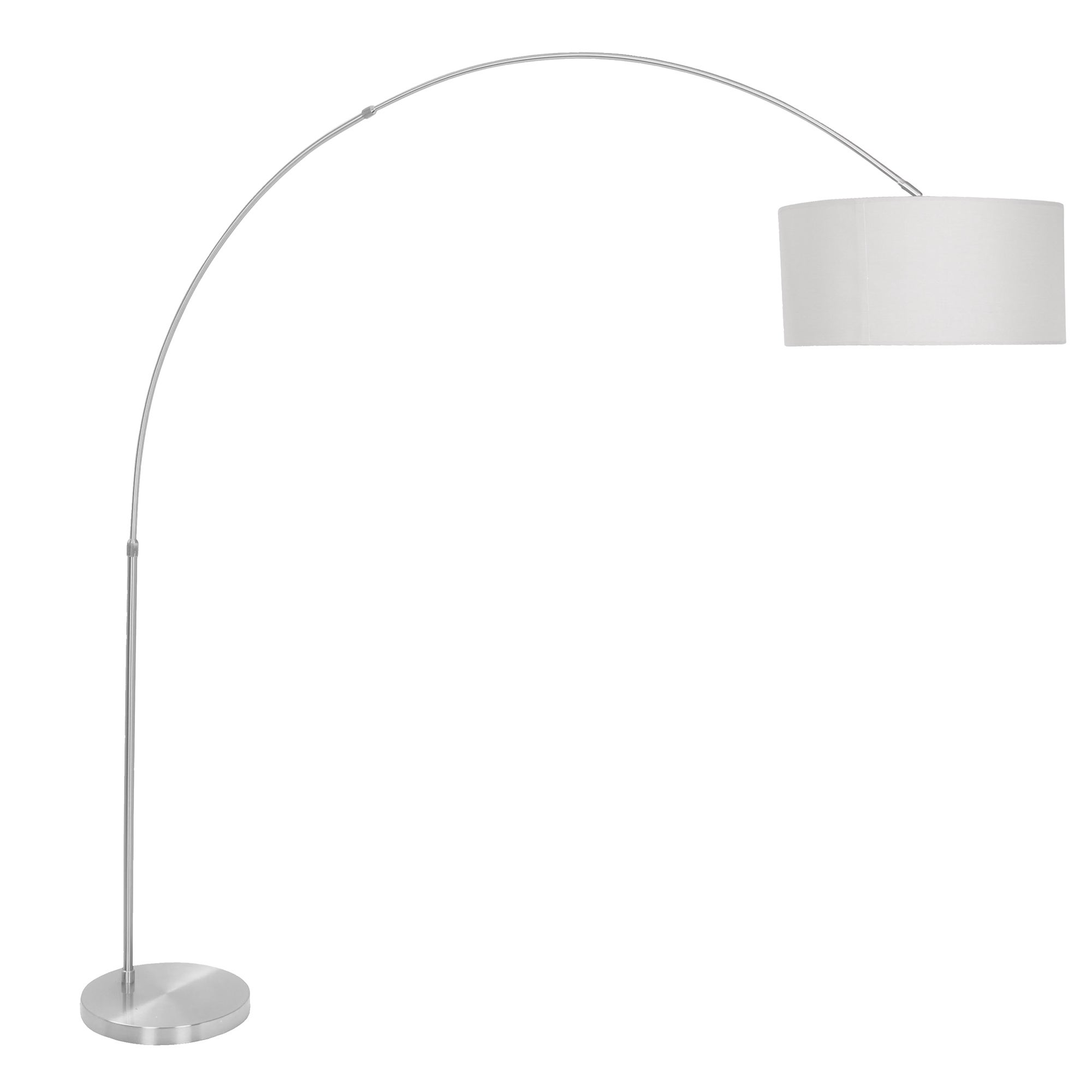 Perfect Oliver U0026 James Isa Contemporary Nickel Arched Floor Lamp (5 Options  Available)
