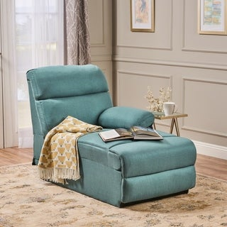 Lazlo Fabric Chaise by Christopher Knight Home