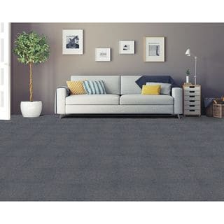 Nexus Smoke Self Adhesive Carpet Floor Tile (12 Tiles)