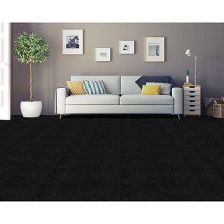 Achim Nexus Jet Self Adhesive Carpet Floor Tile (12 Tiles)