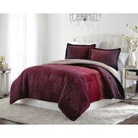 Lenox Amanda Velvet Plush Comforter Set