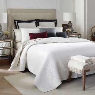 Jones New York Cream Sateen 100-Cotton Quilt