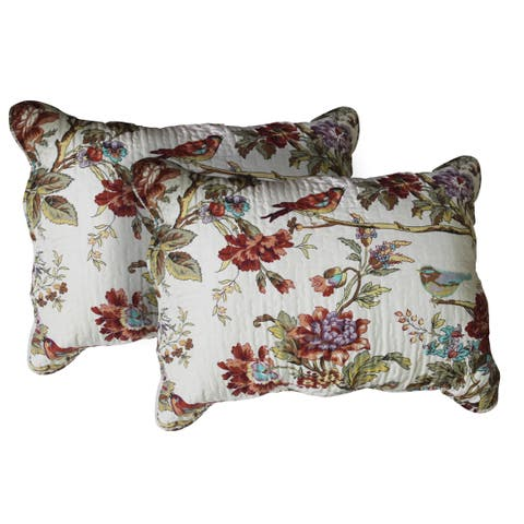 Patch Magic Finch Orchard Standard Pillow Shams (Set of 2)