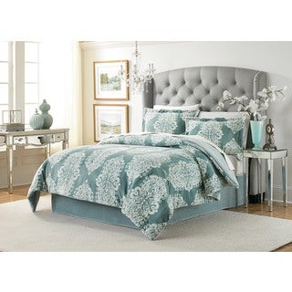 Lenox Amaya Velvet Plush Comforter Set