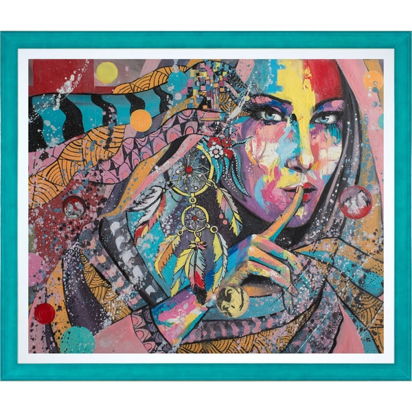 Svetlana Tikhonova 'Dream Catcher' Fine Art Print on Canvas