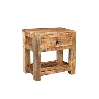 Timbergirl Surat Mango Wood Bedside Table
