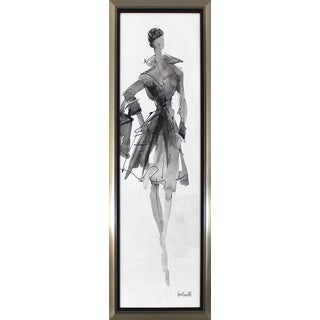 'Fashionable Lady' Framed Wall Art