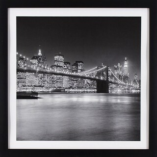 NYC Light in Black Finish Frame