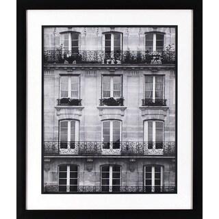 Across the Street in Black Finish Frame