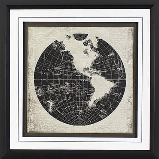 World News in Black Finish Frame