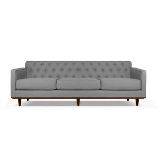 Kent Tufted Linen Sofa