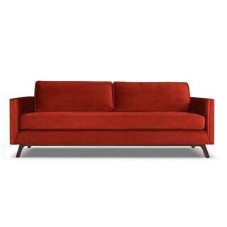 Bruce Mid Century Velvet Sofa