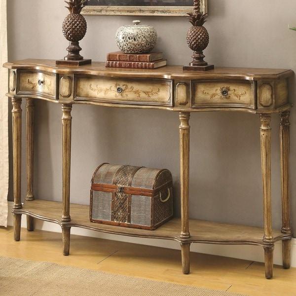 Milgrome Antique Painted Console Table