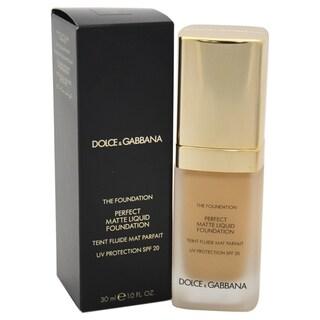 Dolce & Gabbana Perfect Matte Liquid Foundation SPF 20 100 Natural Glow