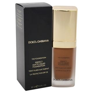 Dolce & Gabbana Perfect Matte Liquid Foundation SPF 20 180 Soft Sable