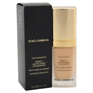 Dolce & Gabbana Perfect Matte Liquid Foundation SPF 20 30 Peachy Beige