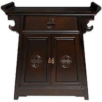 Handmade Rosewood Altar Cabinet (China)