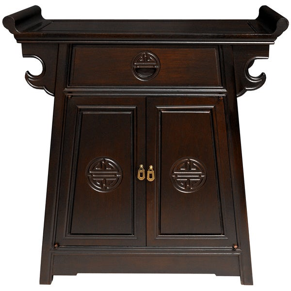 Handmade Rosewood Altar Cabinet (China)