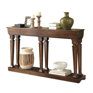 Acme Furniture Garrison Oak Console Table