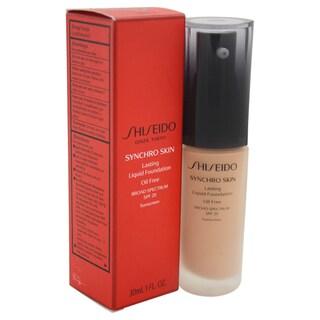 Shiseido Synchro Skin Lasting Liquid Foundation SPF 20 4 Neutral