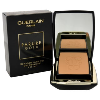 Guerlain Parure Gold Radiance Powder Foundation SPF15 04 Beige Moyen/Medium Beige
