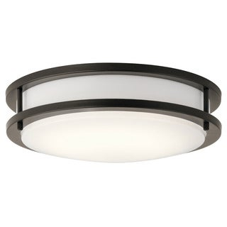 Kichler Lighting Transitional 1-light Olde Bronze LED Flush Mount