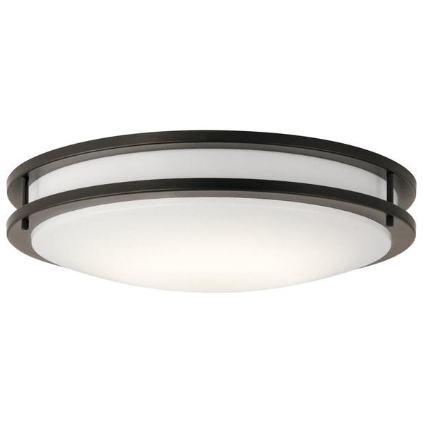 Shop Kichler Lighting Transitional 1-light Olde Bronze LED