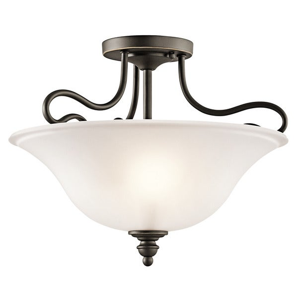 Kichler Lighting Reviews: Shop Kichler Lighting Tanglewood Collection 2-light Olde