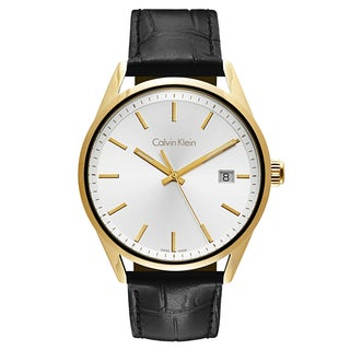 Calvin Klein Formality Men's K4M215C6 Leather Watch