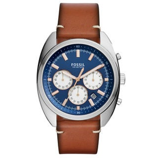 Fossil Drifter CH3045 Men's Blue Dial Watch