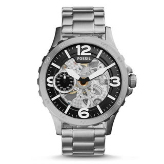 Fossil Nate ME3129 Men's Black Dial Watch