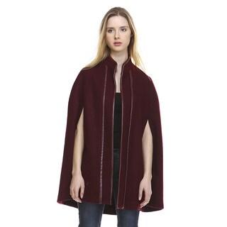 Morning Apple Women's Wool Winter Cape