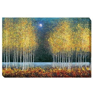 Melissa Graves-Brown 'Blue Moon' Canvas Giclee Art