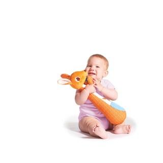 Tiny Love Kangaroo Kangy Orange Fabric Changing Time Toy
